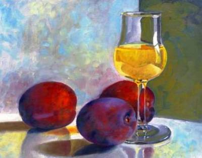Домашнее сливовое вино