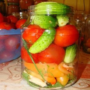 Овощное ассорти вкусное